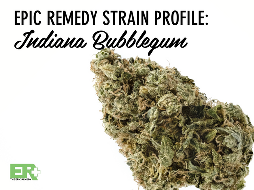 Epic Remedy Strain Profile: Indiana Bubblegum