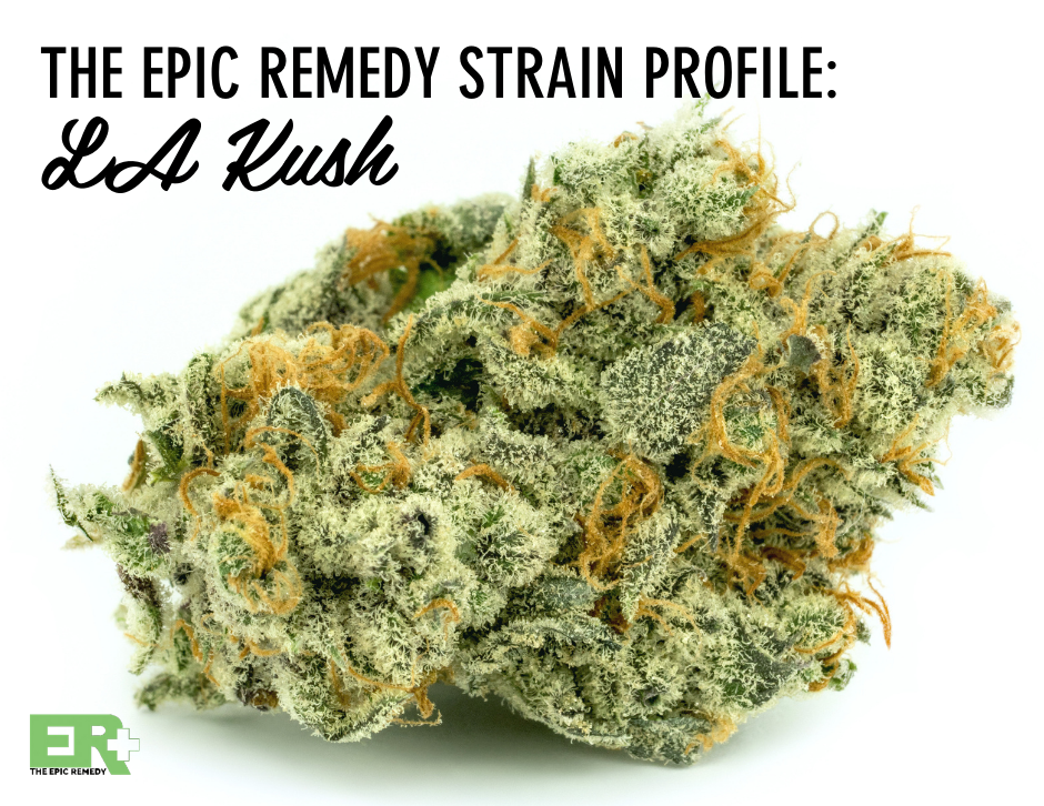 LA Kush strain review by The Epic Remedy Colorado Springs Best Dispensary
