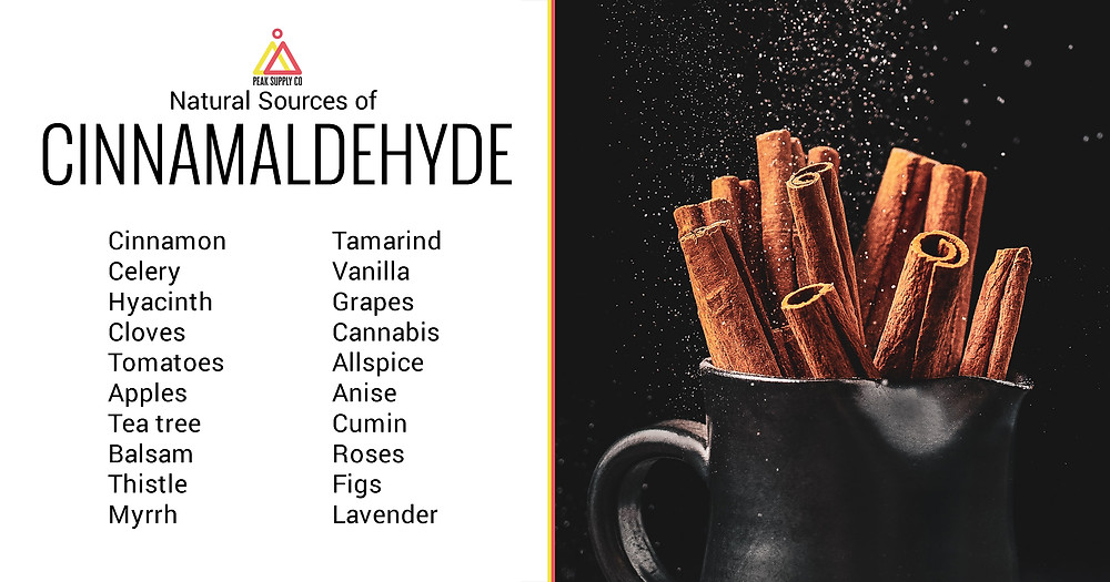 Natural Sources of Cinnamaldehyde Terpenes
