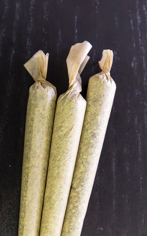 Pre-rolled joints by The Epic Remedy