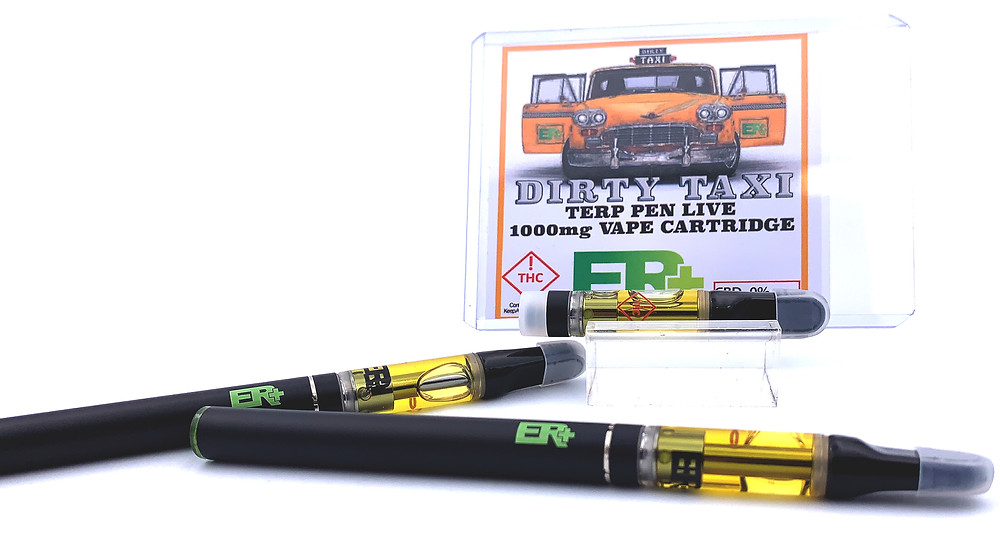 Dirty Taxi Strain Terp Pens by The Epic Remedy