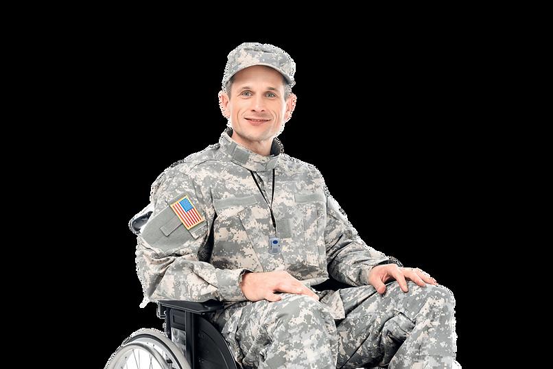 Veteran using Freedom Alert - LogicMark