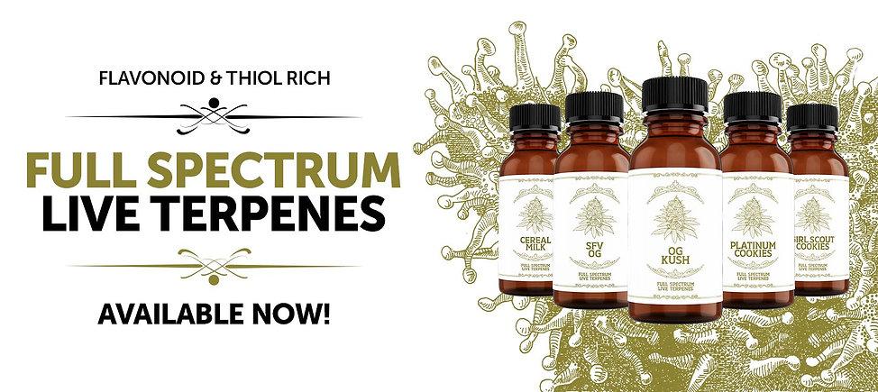 Buy full sectrum live terpenes by peak supply co