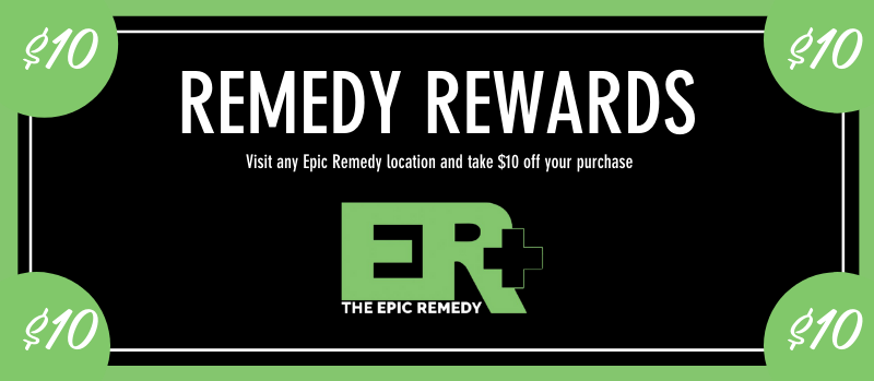 remedy rewards dollars by the epic remedy besy dispensary colorado springs