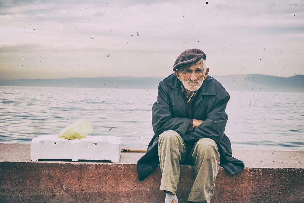 Stubborn Senior Man