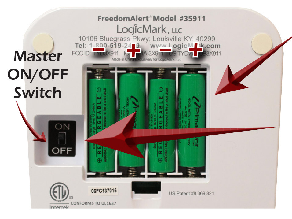 Demonstration of Logicmark's FreedomAlert Installation