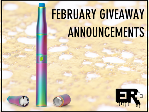January Giveaway Winners + February Giveaway Announcement