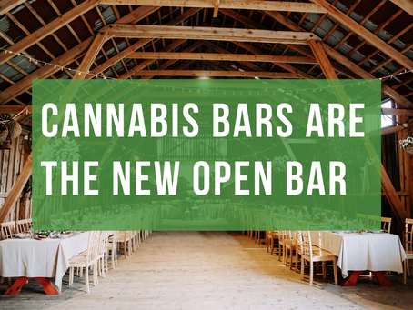 Cannabis Bars Are The New Open Bar
