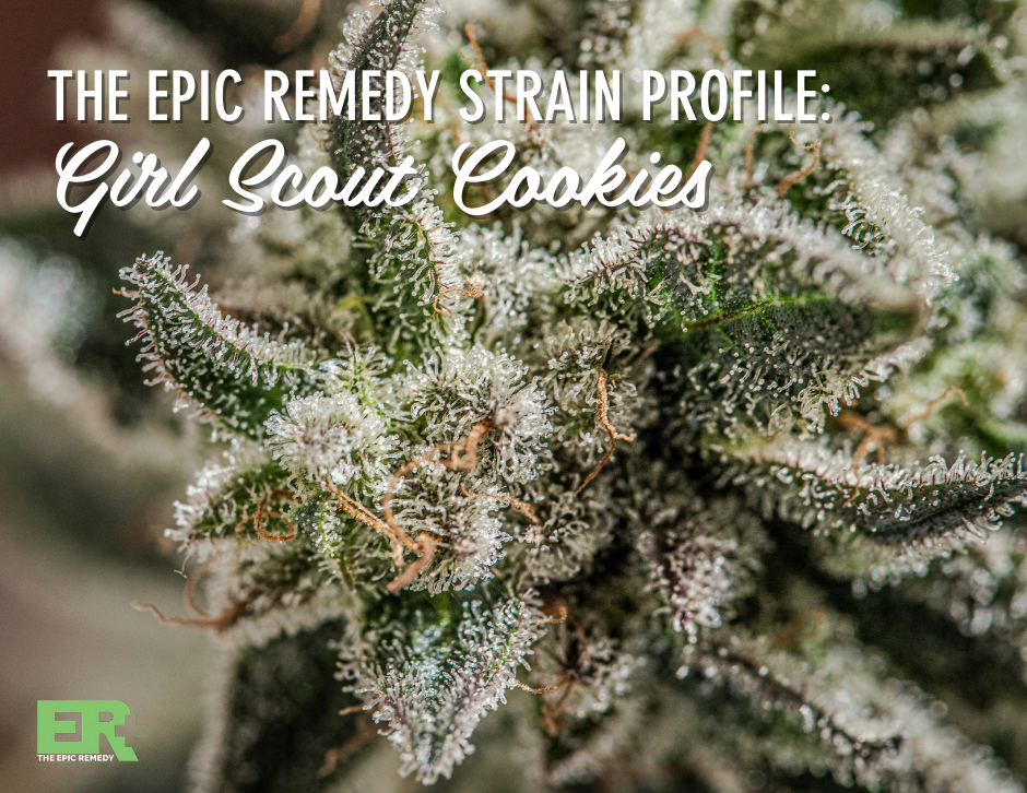 girl scout cookies strain profile and review by the epic remedy colorado springs best dispensary.