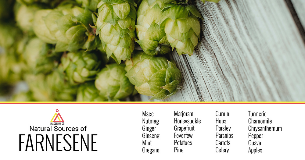 natural sources of Farnesene terpenes - buy farnesene terpenes by peak supply co