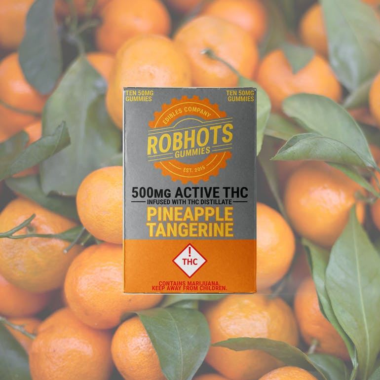 Robhots gummies orange tangerine