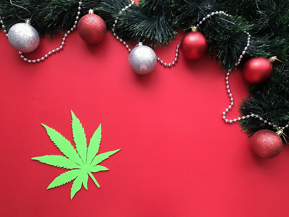 festive cannabis decor by the epic remedy, best dispensary colorado springs