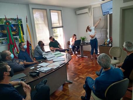 Convento São Boaventura: Freis se reúnem com prefeitura de Imigrante para tratar do Projeto Cultural