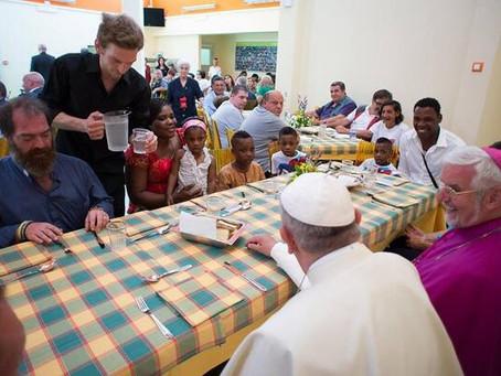 Mensagem do papa Francisco para o V Dia Mundial dos Pobres