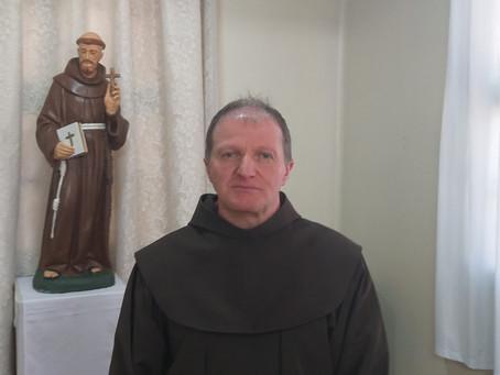 Frei Aldir Mattei é o novo coordenador dos religiosos na Diocese de Frederico Wesphalen