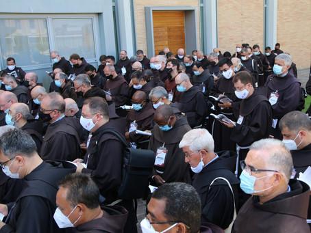 Abertura e primeiro dia do Capítulo Geral OFM em Roma