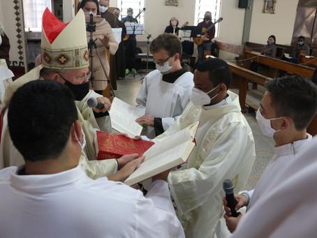 Frei Antônio é ordenado diácono em Porto Alegre