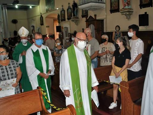 Frei José Frey é acolhido como vigário paroquial em Taquari