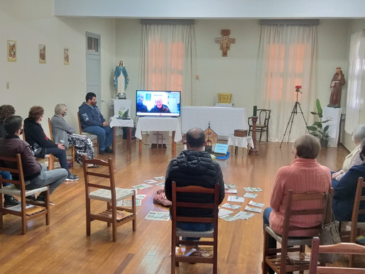 Frei Dorvalino participa do 2º encontro da Ordem Franciscana Secular de Três Passos