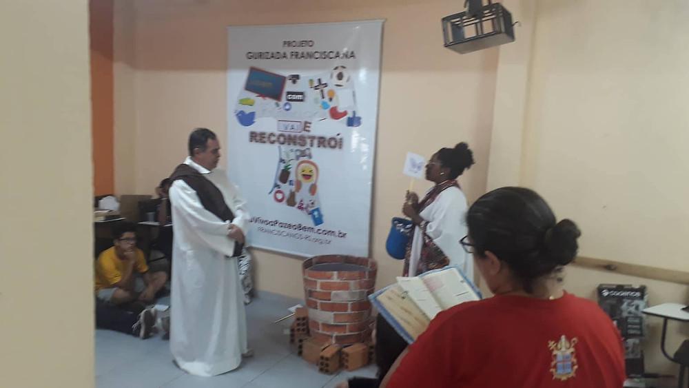 Encenação dos catequistas