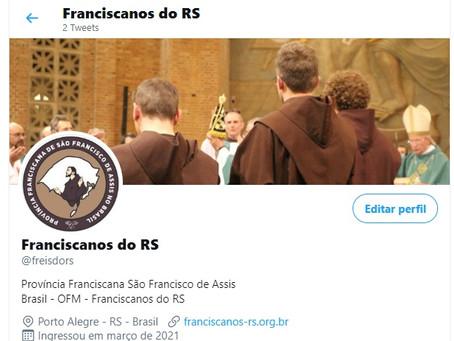 Franciscanos do RS inauguram conta no Twitter