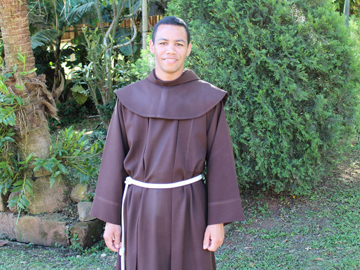 Frei Antônio Rodrigues será ordenado diácono