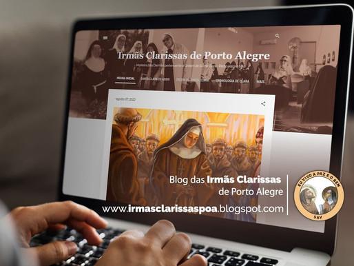 Lançamento do blog das Irmãs Clarissas: o carisma de Santa Clara na web