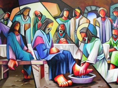 Quinta-feira Santa: O Reino de Deus é uma mesa aberta.