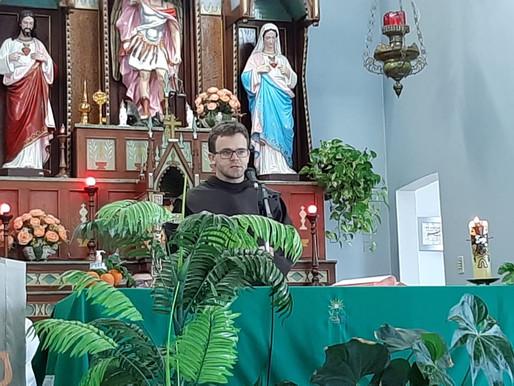 SAV realiza missa vocacional em Itapiranga na preparação da Ordenação Diaconal do Frei Márcio Birck