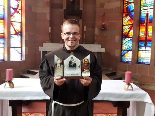 Frei Márcio Joel Birck será ordenado diácono em 2021