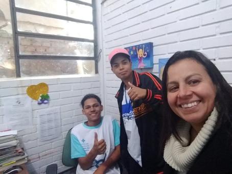 Entrevista com Andréa Fontoura bibliotecária da Biblioteca Frei André Grings em Porto Alegre