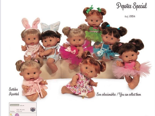 26cm Special Edition Pepotes Dolls