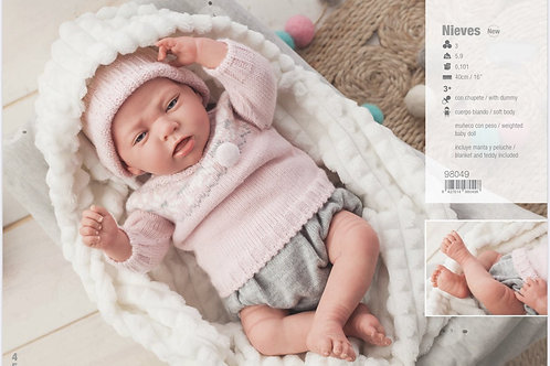 Nieves Reborn Doll