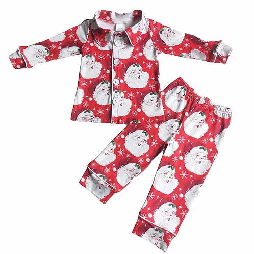 Boys Father Christmas Pyjamas