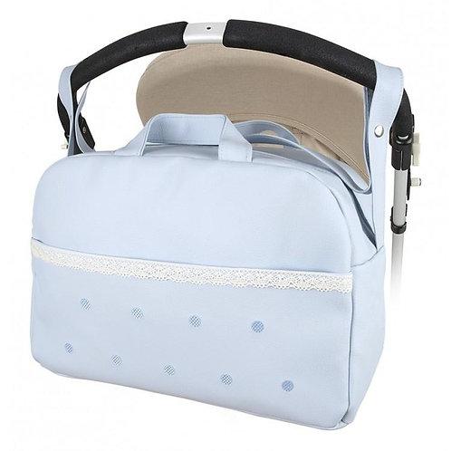 Blue Modin Spot Front Changing Bag
