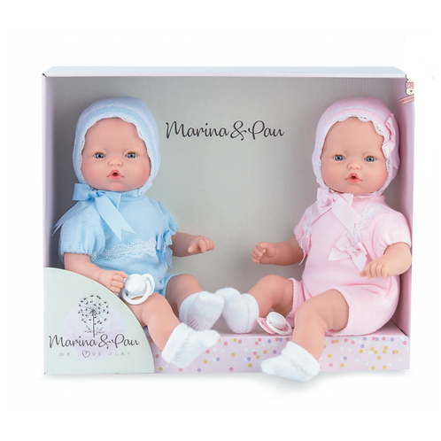 Crying Twin Dolls Boxed Set