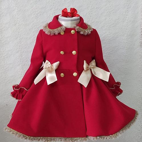 Sonata Valeria Red Coat