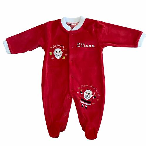 Personalised Christmas Babygrow