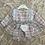 Thumbnail: Pink/Grey Tartan Dress & Pants