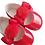 Thumbnail: Red PomPom Pram Shoes