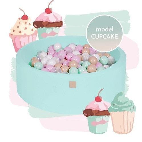 Cupcake Round Foam Ball Pit