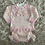 Thumbnail: Pink Lace & Bows Knitted Set