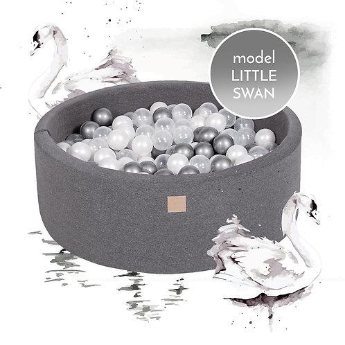 Little Swan Round Foam Ball Pit