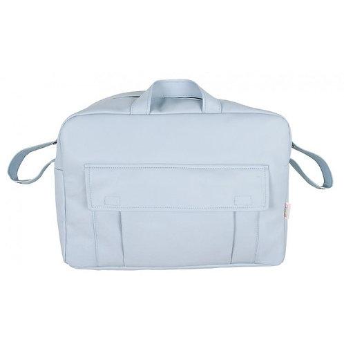 Blue Pocket Front Changing Bag