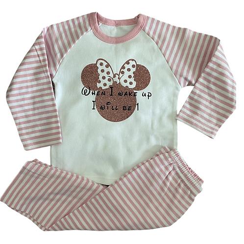 Minnie Mouse Birthday Pyjamas