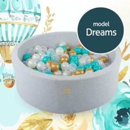 Dreams Round Foam Ball Pit
