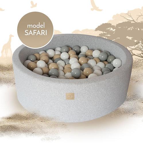 Safari Round Foam Ball Pit