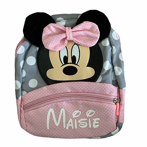 Personalised Mini/Mickey Backpack