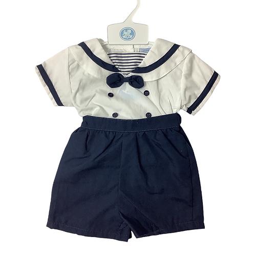 Sailor Shirt & Navy Shorts