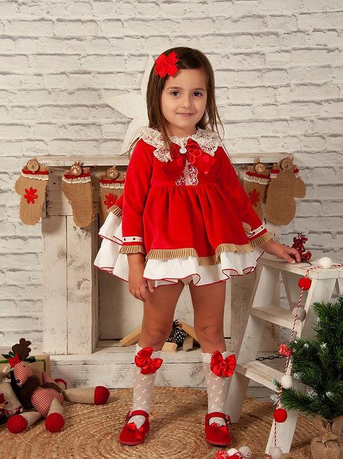 Sonata Red Camille Dress